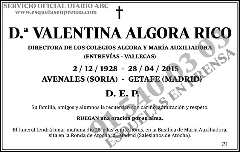 Valentina Algora Rico